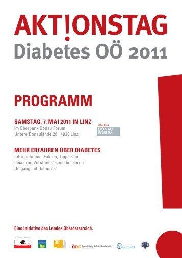 Diabetes OÖ 2011 AKT ONSTAG - ÖDG