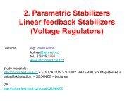 C) Three Terminal Voltage Regulators