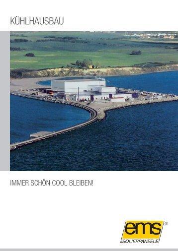 ems-isolier® Kühlhauspaneele PU - Hoesch Bausysteme GmbH