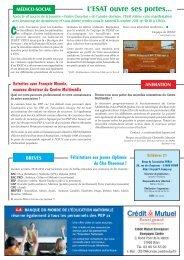 L'ESAT ouvre ses portes… - AD PEP 10