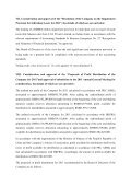 Announcement Resolutions of the Twenty-seventh Meeting of ... - ZTE - Page 3