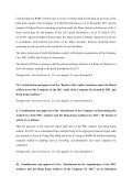 Announcement Resolutions of the Twenty-seventh Meeting of ... - ZTE - Page 4