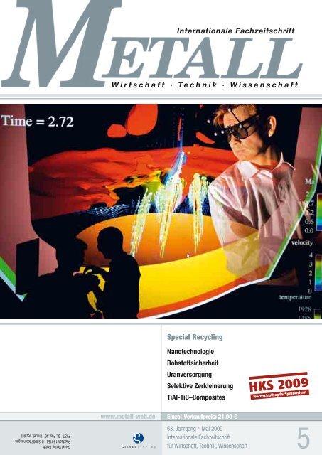 Verlassen Sie sich darauf: Geballte Metall-Kompetenz - Metall-web.de