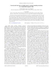 Phys. Rev. B 76, 235326 (2007): Current and shot noise in double ...