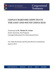 Testimony - U.S.-China Economic and Security Review Commission