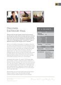 Eastwood Hall Conference Brochure - Principal Hayley - Page 3