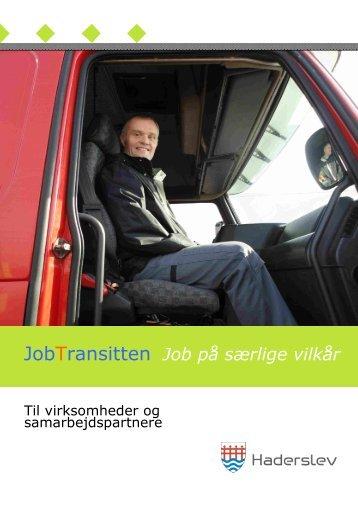 JobTransitten Job på særlige vilkår