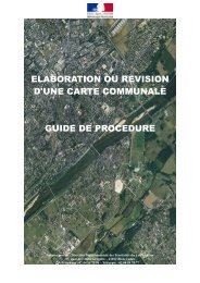 elaboration ou revision d'une carte communale guide ... - Webissimo