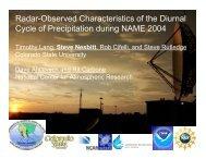 Radar-Observed Characteristics of the Diurnal Cycle of Precipitation ...