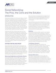 Social Networking - CBS Interactive UK