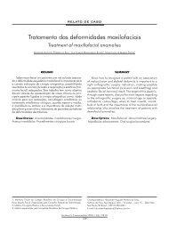 Tratamento das deformidades maxilofaciais - ABCCMF