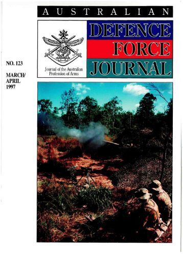 ISSUE 123 : Mar/Apr - 1997 - Australian Defence Force Journal