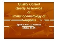 Quality Assurance In Blood Bank