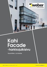 Kahi Facade -harkkojulkisivu - Taloon.com