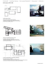 Built museums 1989 - 2009 - Munch-museet