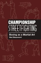 Championship Streetfighting: Boxing as a Martial Art