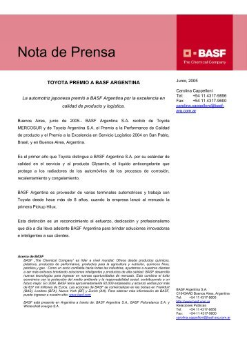 15-06-05 - Premio Toyota - Basf