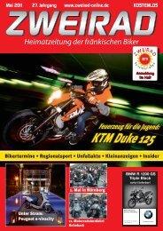 ZWEIRAD 2011-05.pdf (13,0 MB) - ZWEIRAD-online