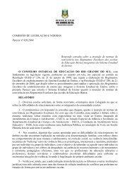 Parecer CEEd nº820/2009 - Sinpro/RS