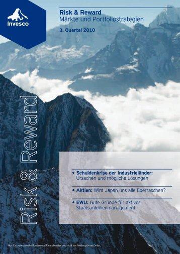 Risk & Reward Märkte und Portfoliostrategien - Fonds Professionell