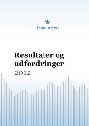 Resultater og udfordringer - Energitilsynet