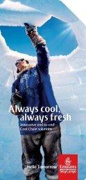 Always cool, always fresh - Emirates SkyCargo