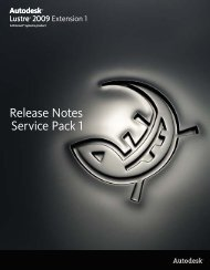 Release Notes Service Pack 1 - Autodesk