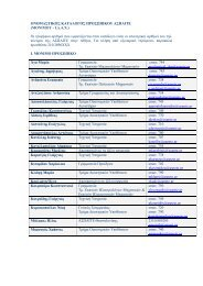 Ονομαστικός Κατάλογος Προσωπικού (Μόνιμου και Ι.Δ.Α.Χ.)