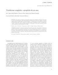 Tricobezoar congénito: a propósito de un caso - Antonio Rondón Lugo