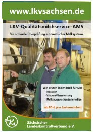 Infoblatt AMS - Sächsischer Landeskontrollverband eV