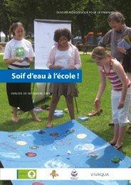 Soif d'eau à l'école - Vivaqua