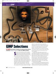 GIMP Selections - Linux Ink