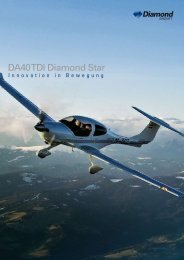 DA40 TDI Diamond Star - Diamond Aircraft
