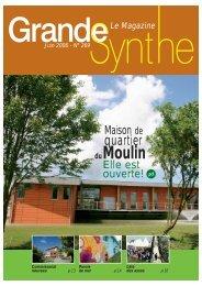 Le Magazine Juin 2006 - Ville de Grande-Synthe