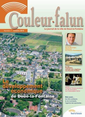 Couleur Falun 7 - Octobre 2010 [pdf - 3Mo] - Doué-la-Fontaine