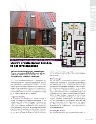 Ingenieur-architect Ulla Provoost bouwde in ... - Dimension