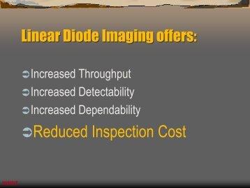 Linear Diode Imaging offers - Epsilon NDT