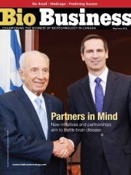 Partners in Mind - Bio Business