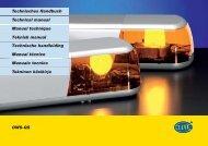 OWS-QS Technisches Handbuch Technical manual Manuel ...
