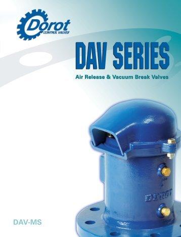 DAV-MS - Dorot Control Valves