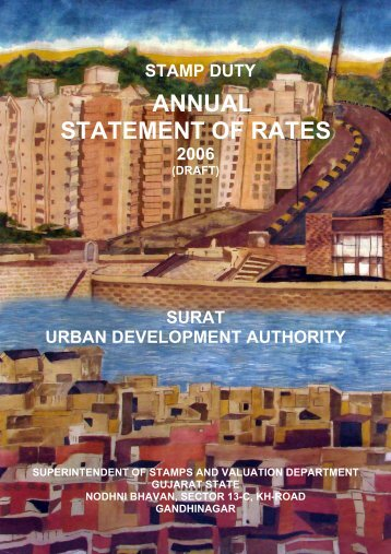 ANNUAL STATEMENT OF RATES - Surat Municipal Corporation
