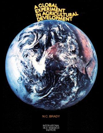 A global experiment in agricultural development - IRRI books