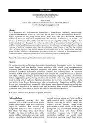 Komunikratos/Komunikrasi - S1 Ilmu Komunikasi UNSOED