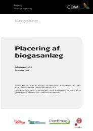 Kogebog Placering af biogasanlæg - inbiom.dk