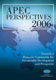 APEC Perspective 2006 - Australian APEC Study Centre