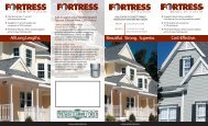 For more Product information on Fortress Bevel ... - Russin Lumber