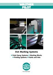 Dot Marking Systems - Walther Pilot
