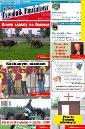 Krowy szalały na Ósemce - Tygodnik powiatowy