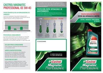 Enlace al catálogo de CASTROL MAGNATEC (PDF) - SEAT.es