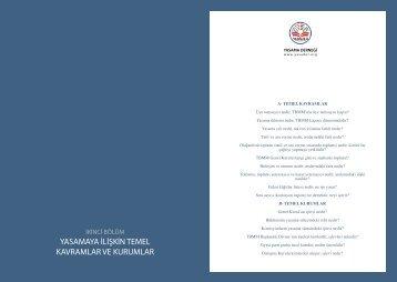 yasamaya ilişkin temel kavramlar ve kurumlar - Yasama Derneği